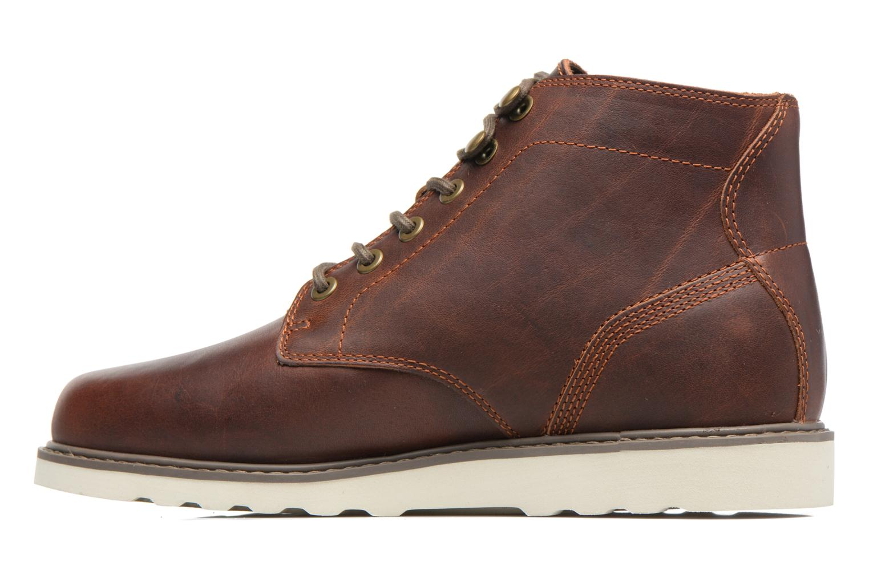 Bottines et boots Timberland Newmarket Lug PT Chukka Marron vue face