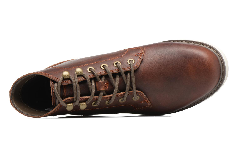 Bottines et boots Timberland Newmarket Lug PT Chukka Marron vue gauche