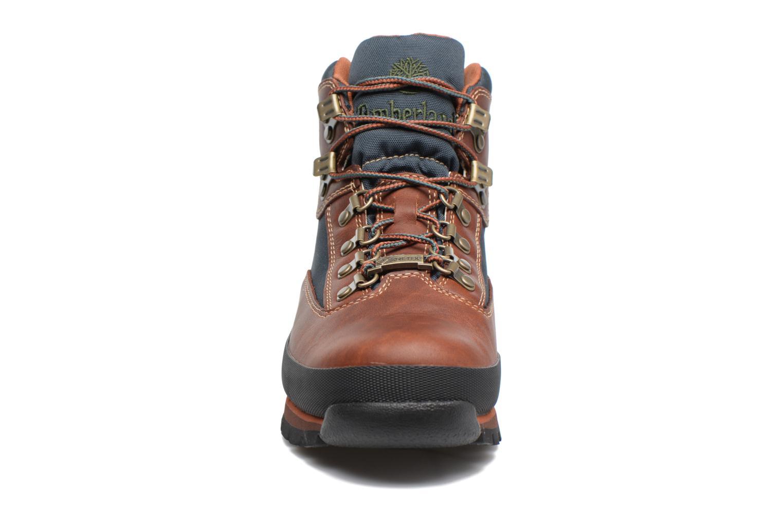 Stiefeletten & Boots Timberland Euro Hiker GTX braun schuhe getragen