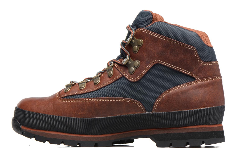 Stiefeletten & Boots Timberland Euro Hiker GTX braun ansicht von vorne