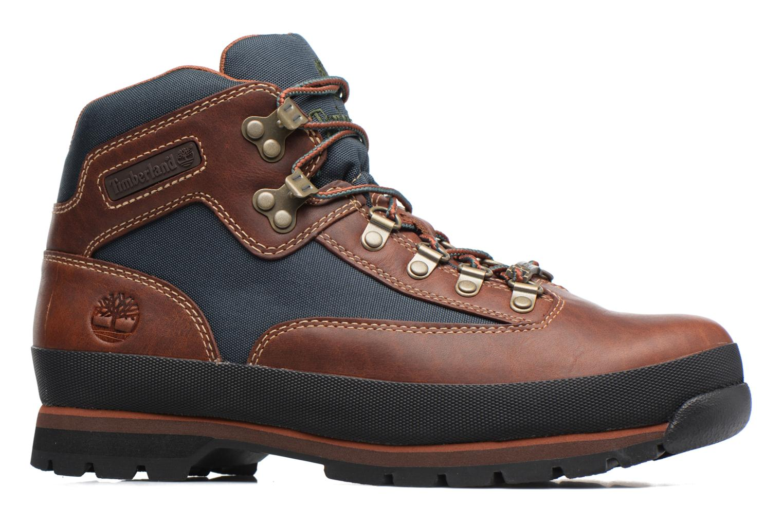 Stiefeletten & Boots Timberland Euro Hiker GTX braun ansicht von hinten