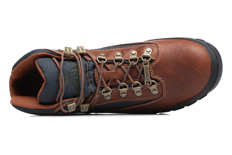 Stiefeletten & Boots Timberland Euro Hiker GTX braun ansicht von links
