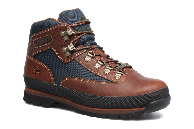 Stiefeletten & Boots Timberland Euro Hiker GTX braun detaillierte ansicht/modell