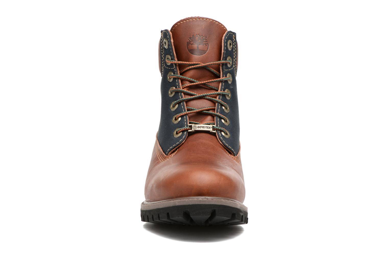 """Bottines et boots Timberland 6"""" Premium F/L GORTEX Marron vue portées chaussures"""