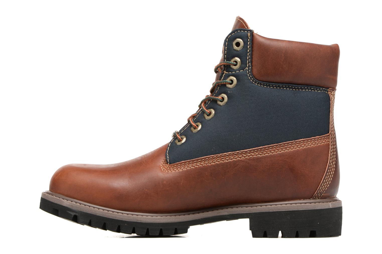 "Bottines et boots Timberland 6"" Premium F/L GORTEX Marron vue face"