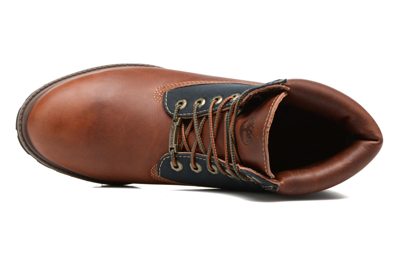 """Bottines et boots Timberland 6"""" Premium F/L GORTEX Marron vue gauche"""