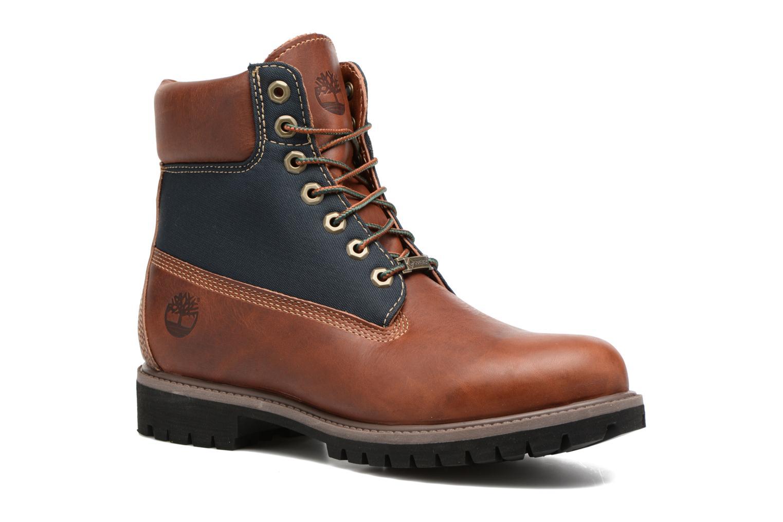 """Bottines et boots Timberland 6"""" Premium F/L GORTEX Marron vue détail/paire"""