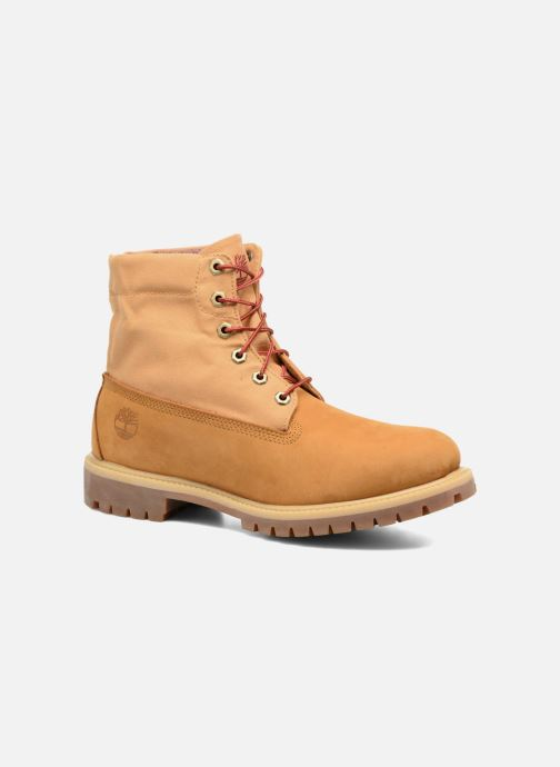 Bottines et boots Timberland Roll Top F/F AF Marron vue 3/4