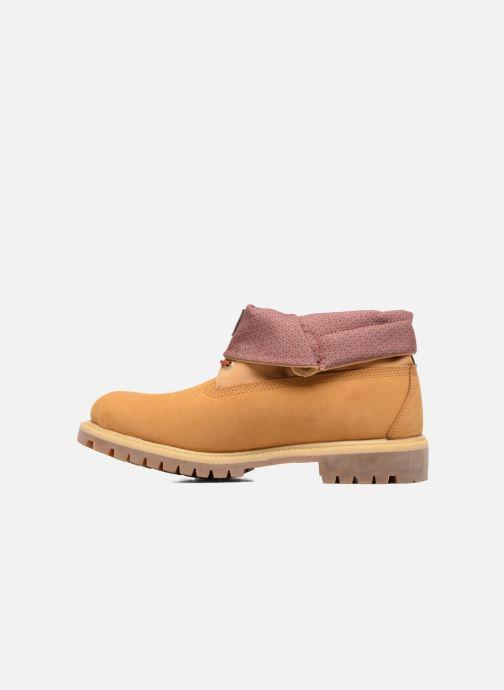 Bottines et boots Timberland Roll Top F/F AF Marron vue face