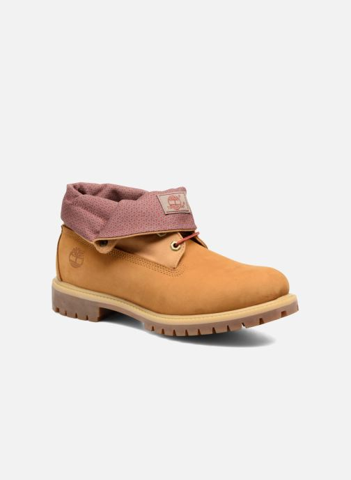 Bottines et boots Timberland Roll Top F/F AF Marron vue détail/paire