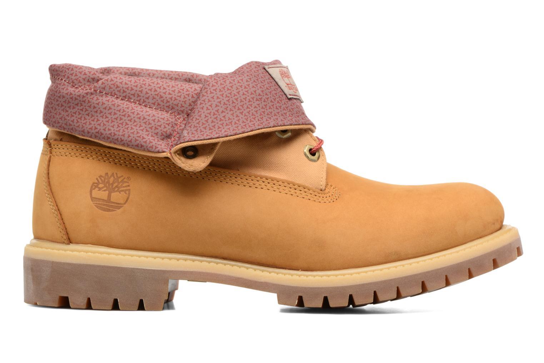 Bottines et boots Timberland Roll Top F/F AF Marron vue derrière