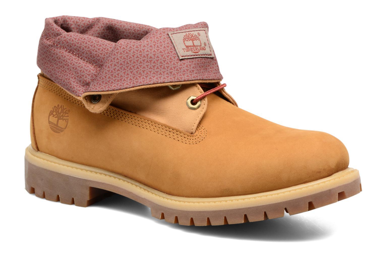 Bottines et boots Timberland Roll Top F/F AF Marron vue détail/paire
