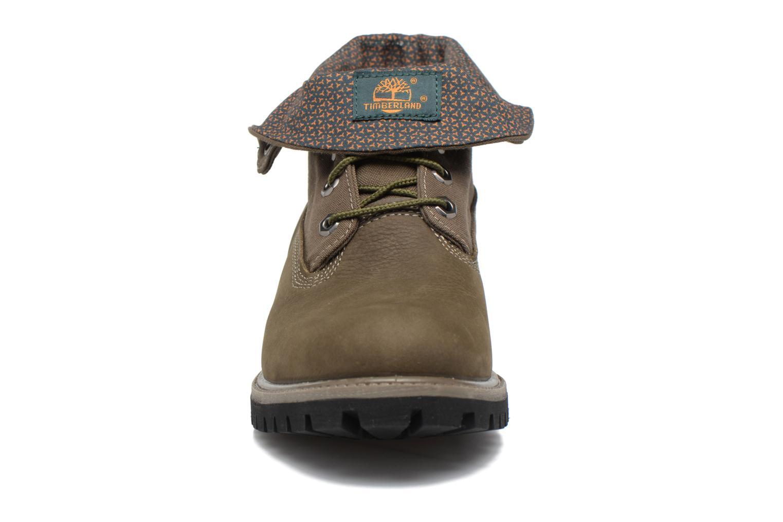 Stiefeletten & Boots Timberland Roll Top F/F AF grün schuhe getragen