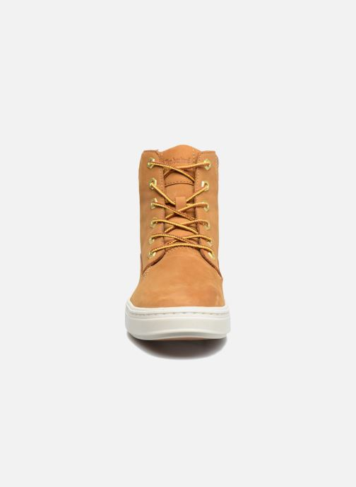 Baskets Timberland Londyn 6 Inch Marron vue portées chaussures
