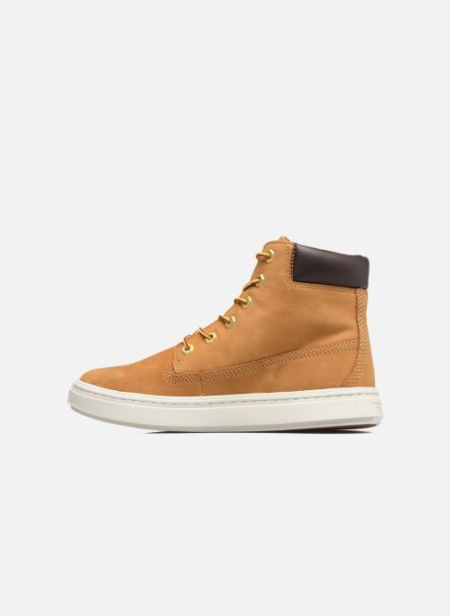 Trainers Timberland Londyn 6 Inch Brown front view