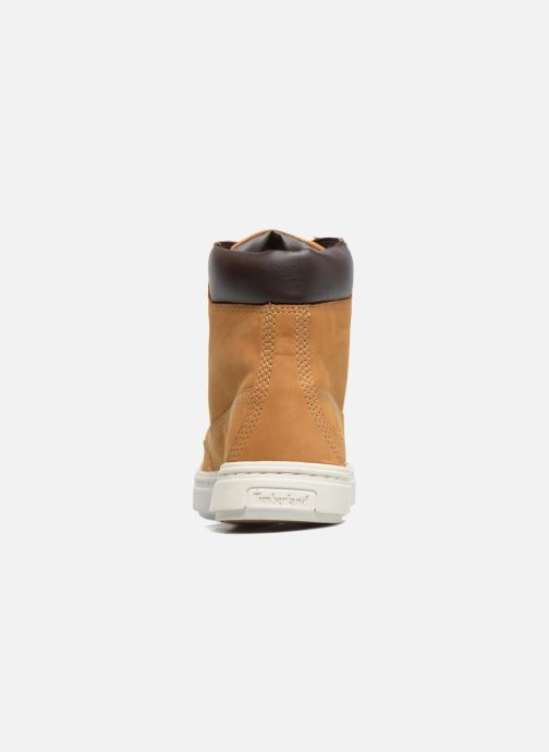 Sneakers Timberland Londyn 6 Inch Bruin rechts