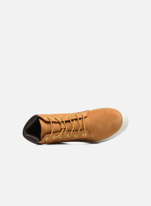 Trainers Timberland Londyn 6 Inch Brown view from the left