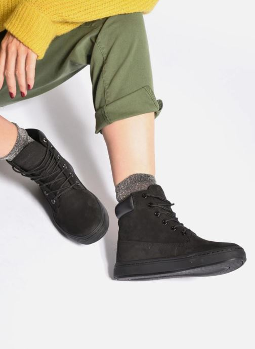 Trainers Timberland Londyn 6 Inch Black view from underneath / model view