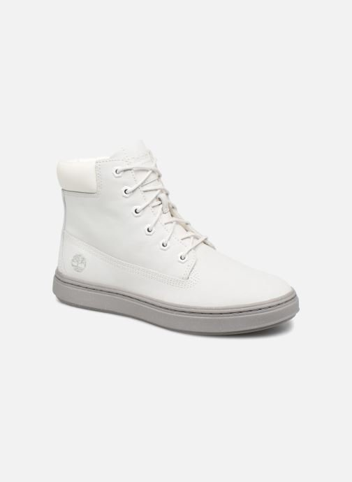 Baskets Timberland Londyn 6 Inch Blanc vue détail/paire