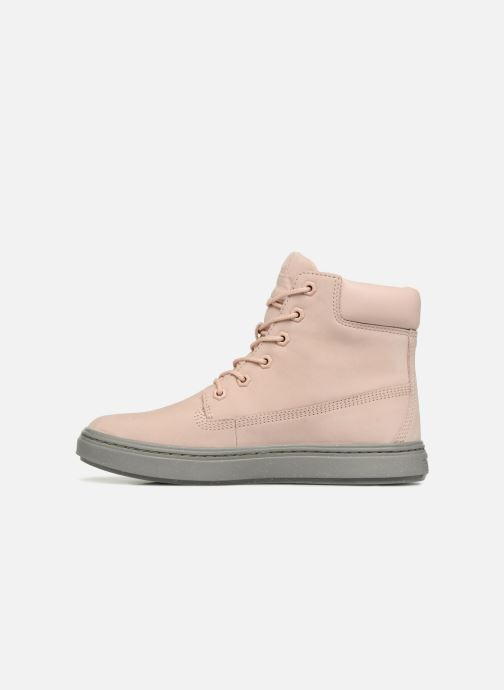 Baskets Timberland Londyn 6 Inch Rose vue face