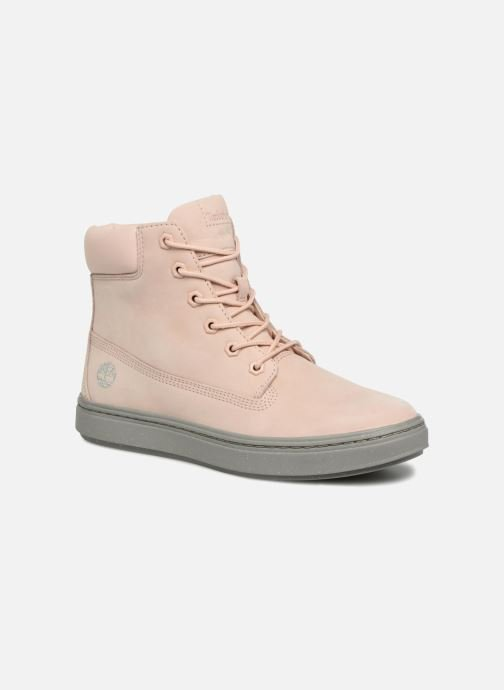 Baskets Timberland Londyn 6 Inch Rose vue détail/paire