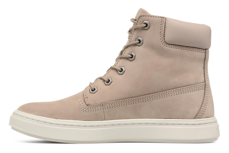 Sneaker Timberland Londyn 6 Inch beige ansicht von vorne