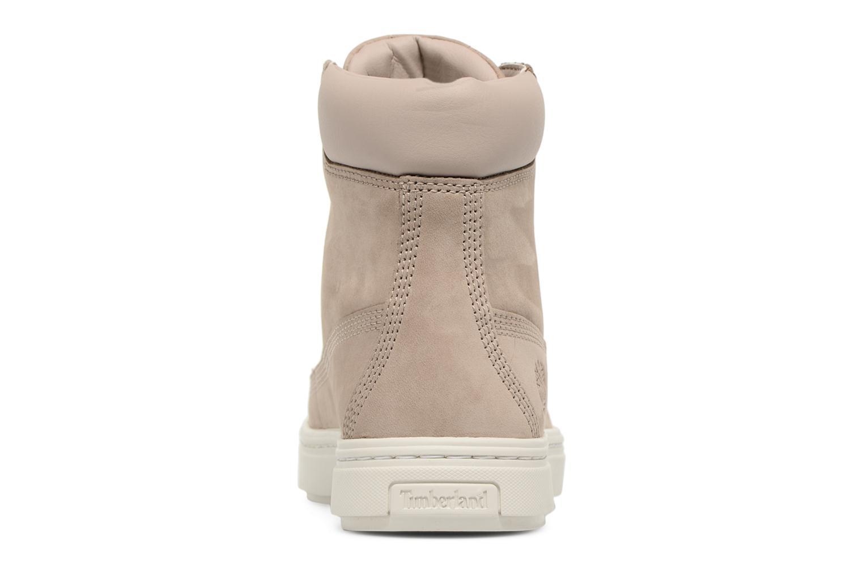 Sneaker Timberland Londyn 6 Inch beige ansicht von rechts