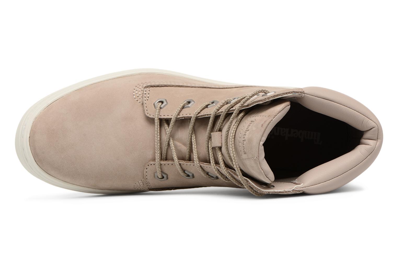 Sneaker Timberland Londyn 6 Inch beige ansicht von links