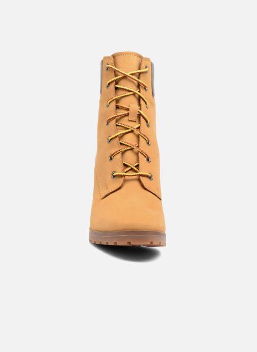 Stivaletti e tronchetti Timberland Allington 6in Lace Up Marrone modello indossato