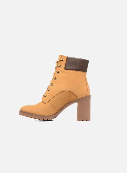 Boots en enkellaarsjes Timberland Allington 6in Lace Up Bruin voorkant