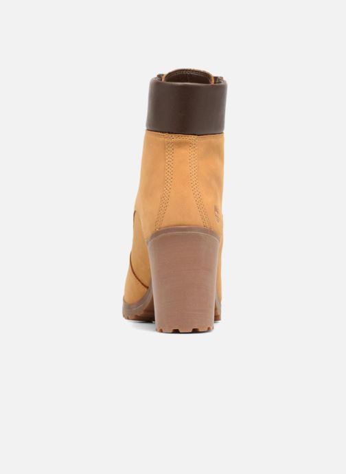 Boots en enkellaarsjes Timberland Allington 6in Lace Up Bruin rechts