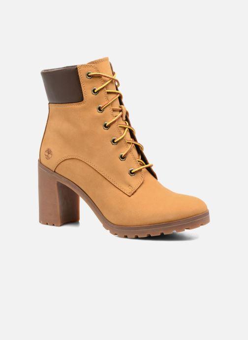 Bottines et boots Timberland Allington 6in Lace Up Marron vue détail/paire