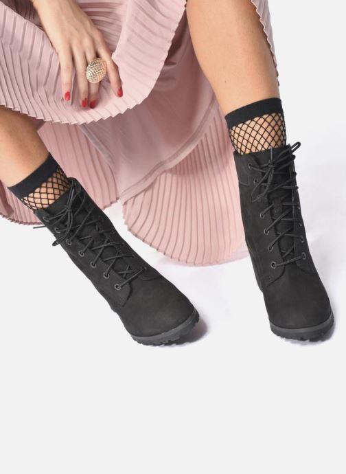 Bottines et boots Timberland Allington 6in Lace Up Noir vue bas / vue portée sac