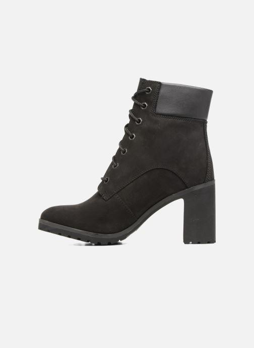 Boots en enkellaarsjes Timberland Allington 6in Lace Up Zwart voorkant