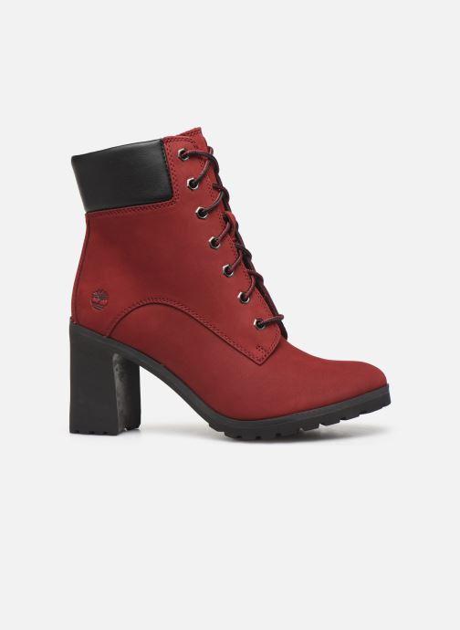 Stiefeletten & Boots Timberland Allington 6in Lace Up rot ansicht von hinten