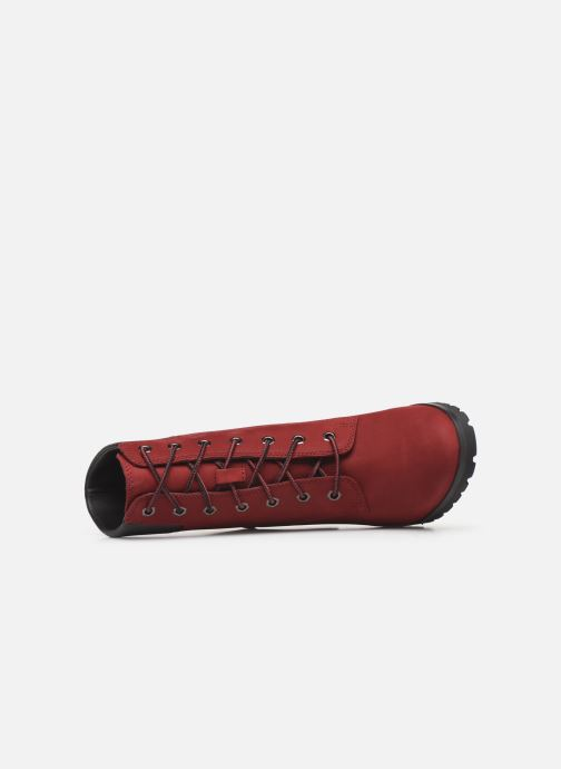 Bottines et boots Timberland Allington 6in Lace Up Rouge vue gauche