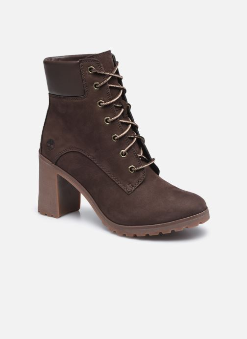 Bottines et boots Timberland Allington 6in Lace Up Marron vue détail/paire