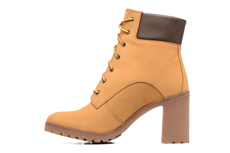 Stiefeletten & Boots Timberland Allington 6in Lace Up braun ansicht von vorne