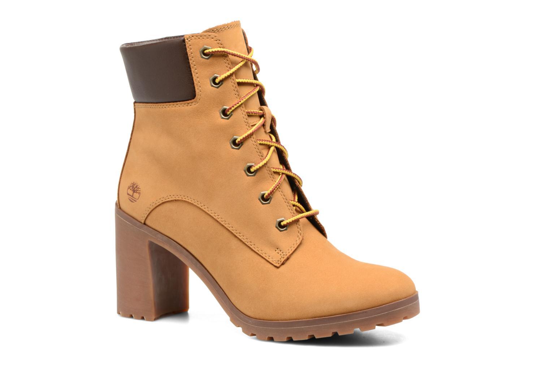 Stiefeletten & Boots Timberland Allington 6in Lace Up braun detaillierte ansicht/modell