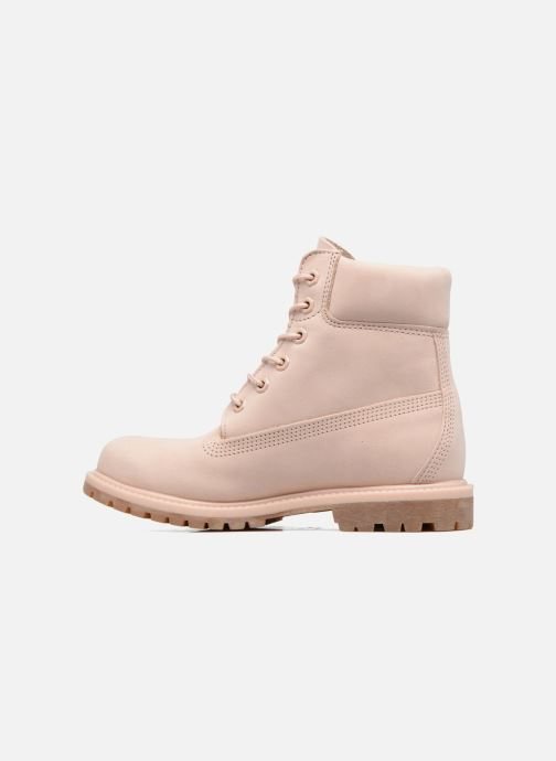 Boots en enkellaarsjes Timberland 6in Premium Boot - W Roze voorkant