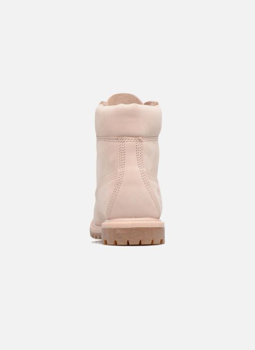 Ankle boots Timberland 6in Premium Boot - W Pink view from the right