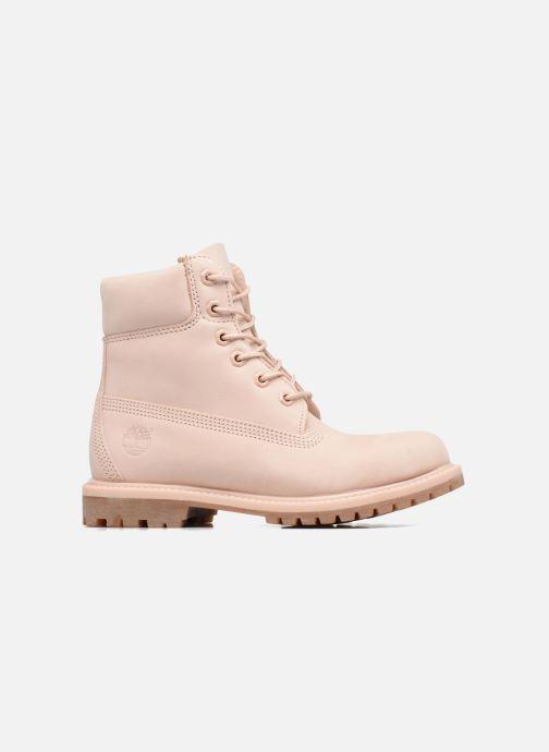 Boots en enkellaarsjes Timberland 6in Premium Boot - W Roze achterkant