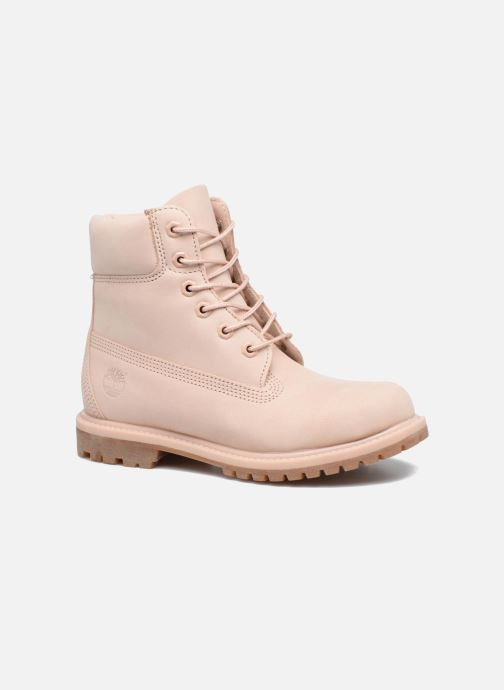 Ankle boots Timberland 6in Premium Boot - W Pink detailed view/ Pair view