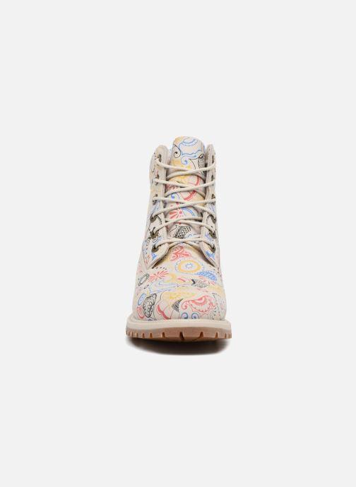 Botines  Timberland 6in Premium Boot - W Multicolor vista del modelo