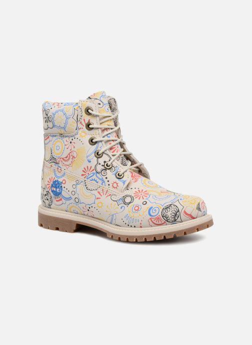 Botines  Timberland 6in Premium Boot - W Multicolor vista de detalle / par