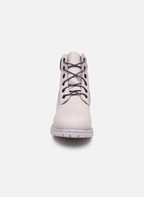 Bottines et boots Timberland 6in Premium Boot - W Violet vue portées chaussures
