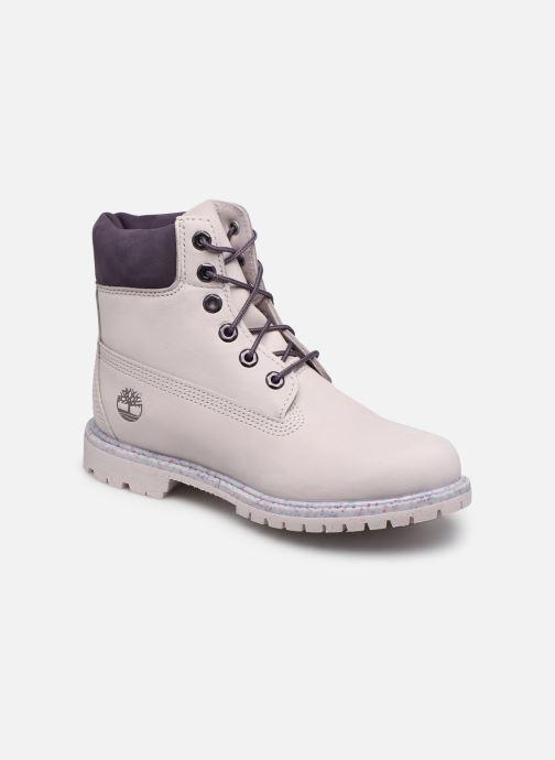 Bottines et boots Timberland 6in Premium Boot - W Violet vue détail/paire