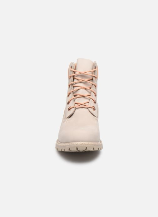 Bottines et boots Timberland 6in Premium Boot - W Beige vue portées chaussures