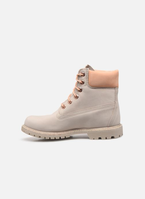 Bottines et boots Timberland 6in Premium Boot - W Beige vue face