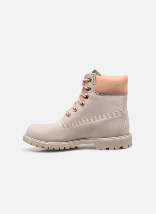 Boots en enkellaarsjes Timberland 6in Premium Boot - W Beige voorkant